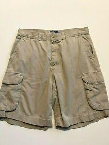 Polo Ralph Lauren Shorts Men's 36 Khaki Cargo