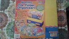 Scholastic Monthly File Folder Organizer teacher's friend publications Perfect!