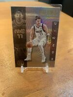 Luka Doncic PANINI ILLUSIONS HOLOFOIL REFRACTOR FINISH HOT INVESTMENT CARD Mint!