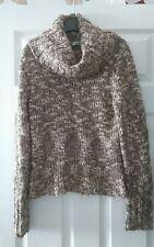 George size 12 chocolate 15% wool medium knit jumper