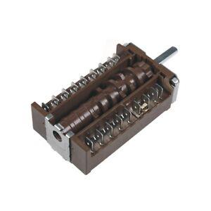 ORIGINAL Wahlschalter Backofenschalter Schalter Constructa 00602726 für Herd