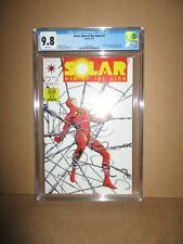 Solar Man of the Atom 7 CGC 9.8 W Top-Grade 1992 X-O Armor Spider Aliens Valiant