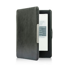 GL Black Folio Slim Auto Sleep Leather Cover Case For Kobo Glo HD eReader