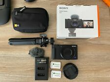 Sony Cyber-shot ZV-1 20.1 MP Digital Vlog Camera w/ Accessories