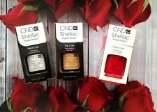 CND Shellac Set Base coat + Top coat + Hollywood Made in USA Top Qualität