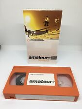 AMATEUR Skate Video VHS NTSC RARE by M Stanfield