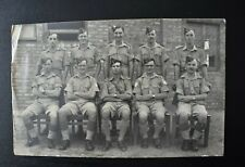 More details for vintage postcard royal horse artillery regiment group unposted real photo rp
