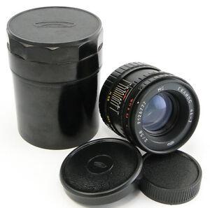 ⭐NEW⭐ MC HELIOS 44-3 2/58 Russian Lens M42 Canon Sony A Fuji Olympus Lumix 44-2