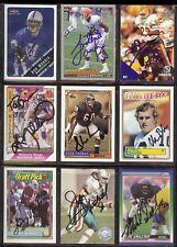 MIKE SINGLETARY HOF Chicago Bears 1990 Score - SIGNED / AUTOGRAPH Football Card