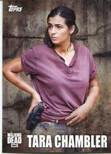 Walking Dead Season 5 Profiles Chase Card C-12 Tara Chambler