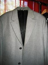 MICHAEL  KORS BASIC Coat CLASSY GRAY Wool BLEND Lined Size 44 L LONG