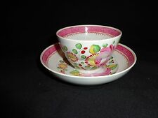 "Antique Queens Rose Soft Paste China Cup & Saucer, 5-5/8"" Saucer Diameter (j)"