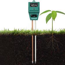 3-in-1 Soil pH and Moisture Light Intensity Meter Plant'Tester for Plants GrowQP