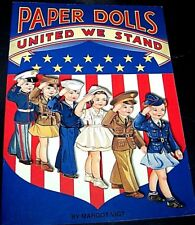 Paper Dolls United We Stand Patriotic Outfits unused! uncut! 6 Dolls 34 Outfits