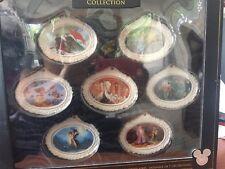 Disney D23 Expo 2017 Exclusive Designer Collection Ariel Rapunzel Ornament Set