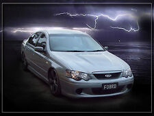FORD BA XR8 FALCON CONVERSION KIT BUMPER GRILLE LIGHTS GUARDS BONNET