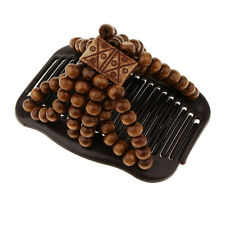 Magic Beads Double Hair Comb Clip Stretchy Ladies Party Hair Accessories