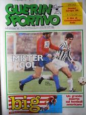 Guerin Sportivo n°47 1983 con film del campionato  - Poster UDINESE   [GS46]