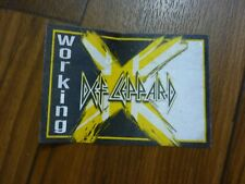 Def Leppard Working X Tour 2002 2003 Backstage Concert Pass Peeled