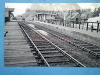 PHOTO  CLAYDON RAILWAY STATION VARSITY LINE LOOKING TOWARDS THE LEVEL CROSSING 1