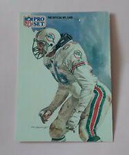 AMERICAN FOOTBALL CARD PRO SET 1991 #422 ALL NFC TEAM JOHN OFFERDAHL LB DOLPHINS