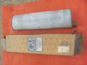 NOS 56 57 Chevrolet Chevy V8 Dual Exhaust RH Muffler GM Bel Air 3731872 1956