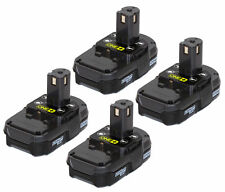 Ryobi P102 One+ Compact Li-Ion 18V 4Pack Battery New for P542 P543 P118 P2102