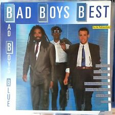 BAD BOYS BLUE LP BAD BOYS BEST 1989 GERMANY VG++/EX