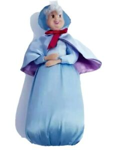 disney store doll fairy godmother from cinderella rare
