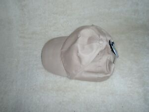 Mens One Size - Light Brown/ Beige Cotton Cap - Marks & Spencer - NEW