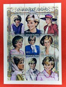 ZAYIX - 1998 Senegal 1303 MNH miniature sheet -  Princess Diana over the years