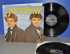 The Everly Brothers Portrait DoLP D'82 M -! Vinyl LP cleaned cleaned