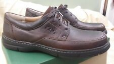 Clarks Sphinx Mens Brown Leather Size 13