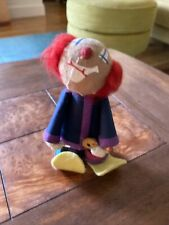 Vintage Handmade Cloth Clown Doll. 6�
