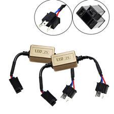 2Pcs H4 HB2/9003 Headlight Kit Canbus LED Decoder DRL Anti-Flicker Load Resistor