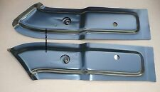 TRUNK FLOOR BRACE BODY MOUNT IMPALA 65-70 SUPPORT BRACE PAN PANEL PAIR