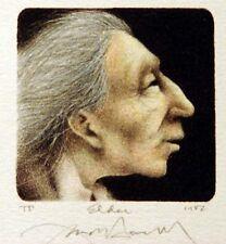 Frank Howell Elder 1982 Original Art Lithograph Hand Signed Artwork MAKE OFFER