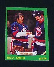 1973-74 opc BILLY SMITH (rc) #142 Ex NY ISLANDERS !!