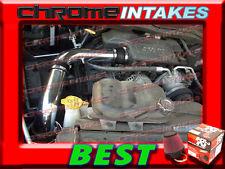 K&N+BLACK RED 02-10 DODGE RAM 1500/2500/3500 3.7L 4.7/5.7L V6 V8 COLD AIR INTAKE
