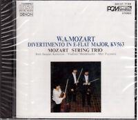 Mozart: Divertimento KV 563, String Trio / Kantarow, Mendelssohn, Fuji. CD Denon