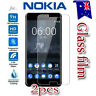 2X Nokia 3 5 6 8 Tempered Glass / Plastic Screen Protector LCD Film Guard