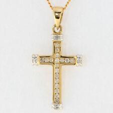 Religiöse Echtschmuck-Halsketten aus Gelbgold