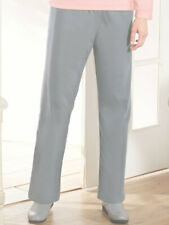 2e2df2471bc New Womens Plus Size 18 Haband Gray Corduroy Cotton Lined Stretch Pants