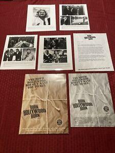 An Alan Smithee Film: Burn Hollywood Burn Press Kit 1998 Eric Idle Ryan O'Neal