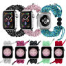 Braided Nylon Rope Band Strap For Apple Watch iWatch SE 6 5 4 3 2 38/40/42/44MM