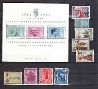 Liechtenstein postfrisch Jahrgang 1962