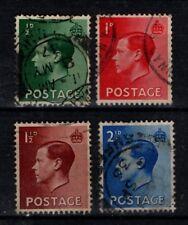Great Britain GB 1936 King Edward VIII  SG457-60  Used