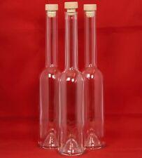 Glasflasche 100/200/350/500 ml Likör-Flasche Schnapsflasche OPHGK Flasche-leer