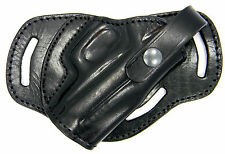 Premium Leather 3-slot SMALL OF BACK (SOB) Holster for BERETTA CHEETAH 84 85