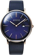 [ADEX] Watch Quartz 2046A-04 Regular Imported Product Blue